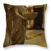 Angel Of Grace Throw Pillow