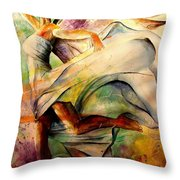 Angel Of Hope Throw Pillow