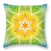 Angel Of Inspiration Throw Pillow