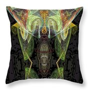 Angel Of Locks And Lost Items Throw Pillow