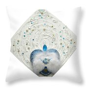 Angel Of Purity And Power Throw Pillow