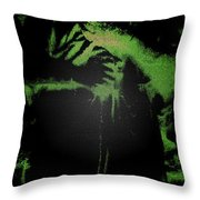 Angel Of The Forest Throw Pillow