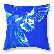 Angel Of The Horizon  Throw Pillow