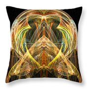 Angel Of Transformation And Change Throw Pillow