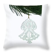 Angel Ornament Throw Pillow