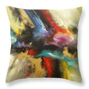 Angel Redemption Throw Pillow
