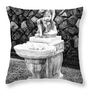 Angel Sanctuary Biltmore Asheville Nc Throw Pillow