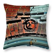 Angel Strong - Canada Throw Pillow