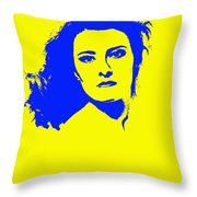 Angela Torn By Throw Pillow