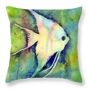 Angelfish I Throw Pillow