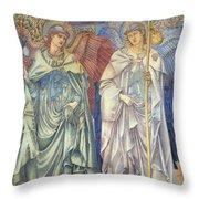 Angeli Ministrantes Throw Pillow