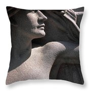 Angelic Woman Throw Pillow
