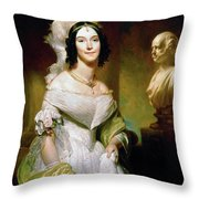 Angelica S Throw Pillow
