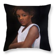 Angelina Throw Pillow