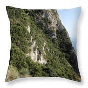 Angelo Castle Corfu Greece Throw Pillow