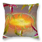Angels Gather To The Love Of The Lord Throw Pillow