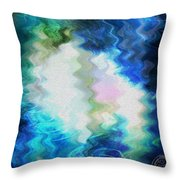 Angels Of Peace Throw Pillow