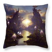 Angels Passage Throw Pillow