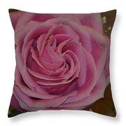 Angel's Pink Rose Throw Pillow