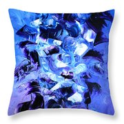 Angels Sky Throw Pillow