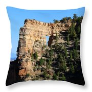 Angel's Window Cape Royal Throw Pillow