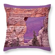 Angel's Window  Grand Canyon Throw Pillow