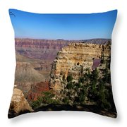 Angel's Window Grand Canyon North Rim  Throw Pillow
