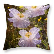 Angels' Wings Throw Pillow