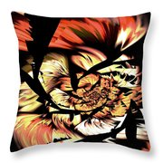 Anger Management Throw Pillow by Anastasiya Malakhova
