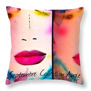 Angie 2 Throw Pillow