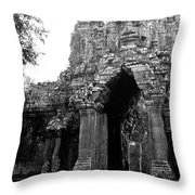Angkor Thom East Gate 01 Throw Pillow