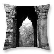 Angkor Thom East Gate 03 Throw Pillow