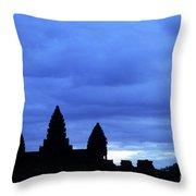 Angkor Wat Sunrise 01 Throw Pillow