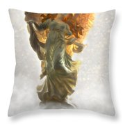 Angel II Throw Pillow