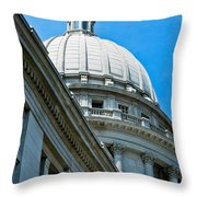 Angle On The Capitol Throw Pillow