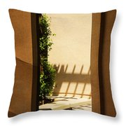 Angled Reflections2 Throw Pillow