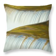 Angled Water Throw Pillow