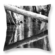 Angles And Reflections Throw Pillow