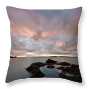Anglesey Sunset Throw Pillow