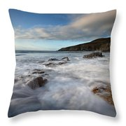 Anglesey Tides Throw Pillow