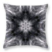 Angry Clouds Mandala1 Throw Pillow