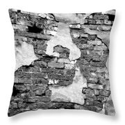 Angry Decay Throw Pillow