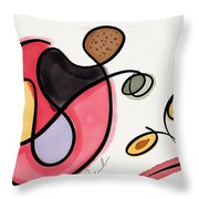 Angry Ideas Throw Pillow