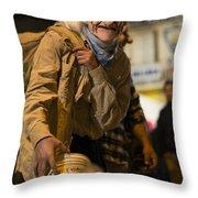 Grotesque  Throw Pillow