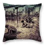 Anhui Wannan China Throw Pillow