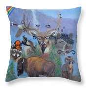 Animal Equality Throw Pillow