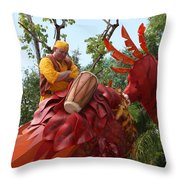 Animal Kingdom Bird Throw Pillow