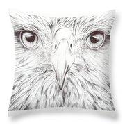 Animal Kingdom Series - Bird Of Prey Throw Pillow