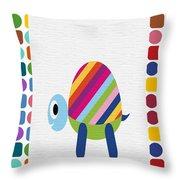 Animals Whimsical 2 Throw Pillow