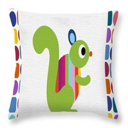 Animals Whimsical 3 Throw Pillow